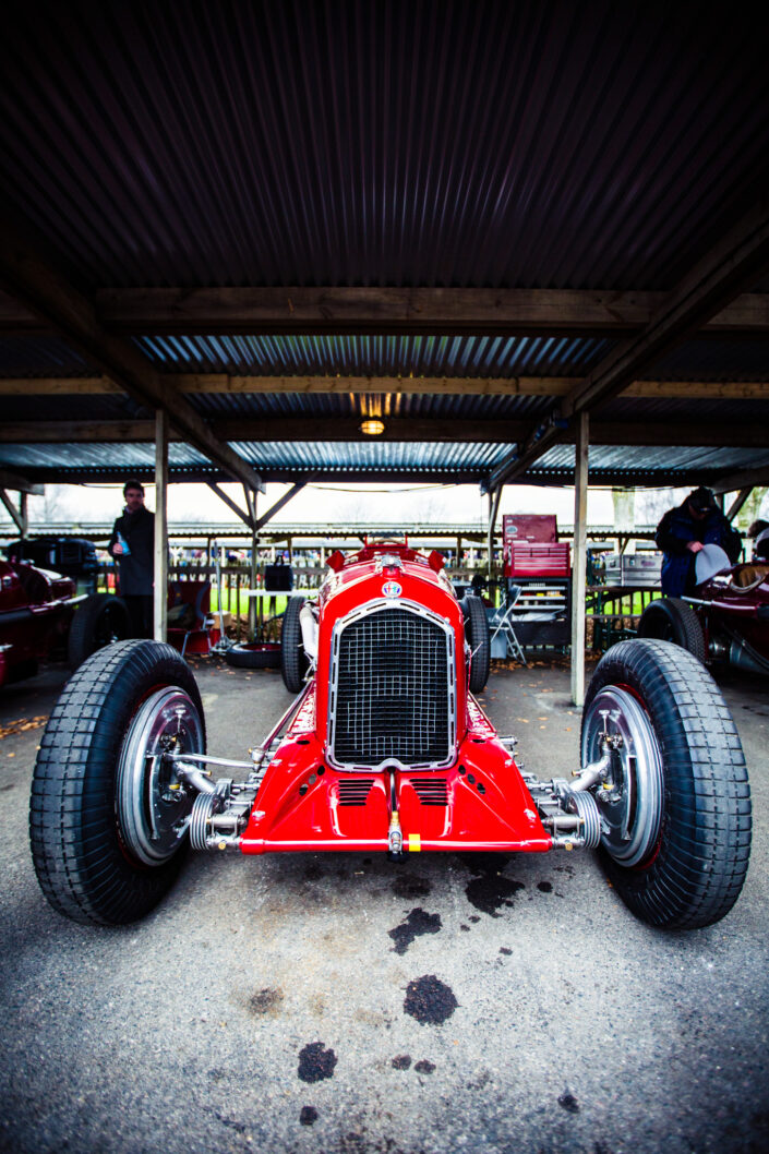 Front including grill of Alfa Romeo Tipo B
