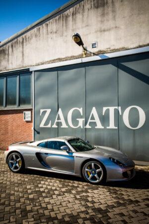 Porsche Carrera GTZ at the factory of independent coachbuilding company Zagato