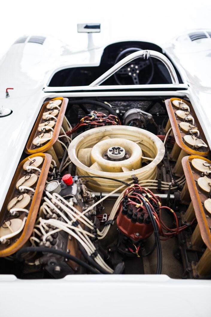 Porsche Flat 16 Engine